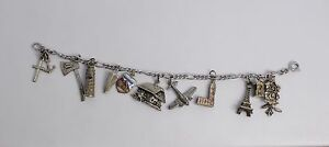 Sterling Silver European Charm Bracelet