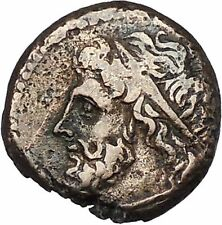 Syracuse Sicily 270BC King Hieron II  Ancient Greek Coin Poseidon Trident i46460