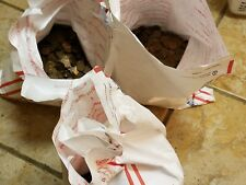 3 Bags=$75 FV 7,500 Circulated 95% Copper Pennies. 50LBS Bulk Bullion. 1959-1982