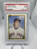 1990 Bowman Roger Clemens #268 PSA 9 Boston Red Sox Hall Of Fame HOF ? 🔥🔥🔥