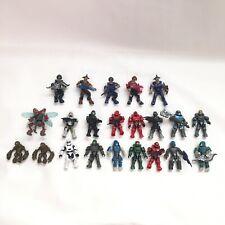 Halo Mega Bloks Minifigures Lot of 22 Mini Figures