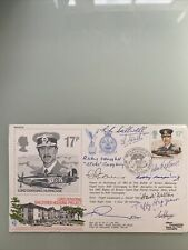 More details for fdc raf(ac)29 lord dowding/hurricane housing  signed 10 battle of britain vets