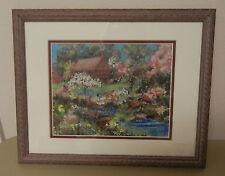 """Framed Print by Loey're Siering """"San Francisco Tea Garden"""" - Flowers Landscape"""