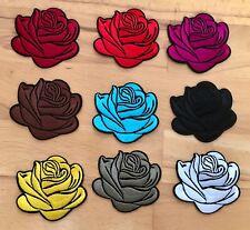 Edler Rosen Aufnäher / Aufbügler Bügelbild Rose patch Blumen Applikation flower