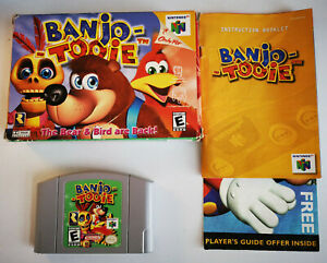Banjo-Tooie (Nintendo 64, 2000) Complete in box, tested and working
