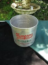 Vintage Thompson's Malted Milk Container