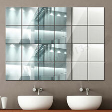 Adesivo da parete per piastrelle a specchio 40X Adesivo per camera quadrato auto