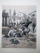 c71-94 Gravure contes & récits d'Alsace zum andenken par Tanconville