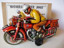 "Motorradfahrer ""Josef "" (Modell früher Tippco Nürnberg) Marke JW Made in Germany"