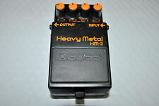 BOSS HM-2 Heavy Metal Guitar Effects Pedal Made in Taiwan 1988