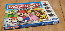 Monopoly Gamer Board Game - Nintendo / Hasbro Gaming *100% Complete VGC*