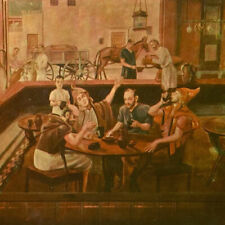 Vintage 1954 Cinelli's Country House Restaurant Menu Merchantville New Jersey