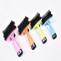 Dog Cat Hair Brush Fur Shedding Trimmer Grooming Rake Professional Comb Brush