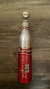 1 2010 FIFA WORLD CUP PUERTO RICO ALUMINUM BEER BOTTLE CAN BY BUDWEISER #501623