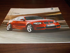 2008 BMW 1-Series 20-page Sales Catalog