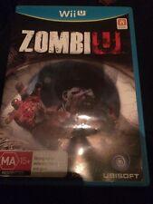 Nintendo Wii U Zombi U As New Australian Edition High Rated Zombie Shooting Game