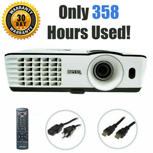 BENQ MX660P DLP Projector 3000 ANSI 3D HDMI - Only 358 OEM Lamp Hours Used!