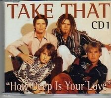 (CL116) Take That, How Deep Is Your Love - 1996 CD