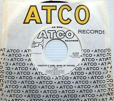 CHER white label promo 45 Chastity's Song (Band Of Thieves) ATCO 45-6684 Dr.John