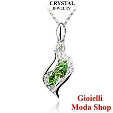 Girocollo Collana Donna con Ciondolo Crystal Swarovski Elements - G127