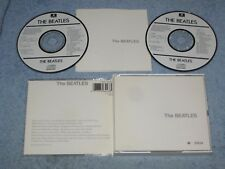 The Beatles White Album 2xCD numbered first pressing Japan-for-Europe Toshiba