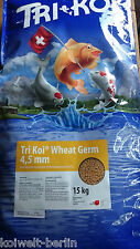 Tri Koi Wheat Germ - Light Koi Food for the Complete Year - 4,5 mm - 5 KG