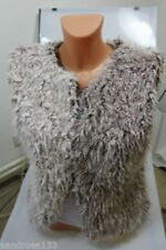 Manteaux et vestes marrons en polyester pour femme
