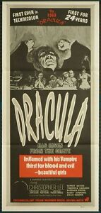 Dracula has Risen From the Grave - original daybill (UNUSED)
