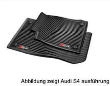 Audi S5 Allwetterfußmatten vorn 8W7061221A 041 Gummimatten Gummi Fussmatten