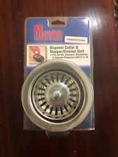 Mountain Plumbing Products Disposal Collar& Stopper/Strainer Unit