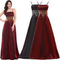 Formal Wedding Party Evening Bridesmaid Wedding Ball Gown Cocktail LONG Dress;