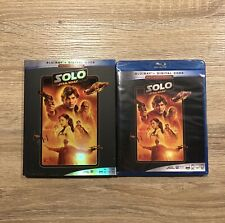 Solo: A Star Wars Story (Blu-ray + Digital) W/ Slipcover
