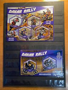 Stamps motorcycles Dakar Rally