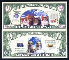 SET USA Fantasy 2 notes 2002, Cats and Dogs Set