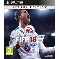 PS3 FIFA 18 Legacy Edition PS3 MINT - Super Fast Delivery