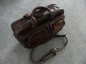 Cortez Columbian Leather Airline / Laptop / Briefcase / Business Bag