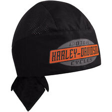 """HARLEY-DAVIDSON Bonnet couvrant """" noir H-D """" Foulard,casquette,capuchon,maille"""