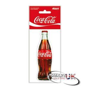 Coca Cola Car Air Freshener Freshner Fragrance Scent - original bottle