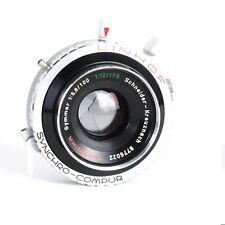 ^Schneider Linhof Technika Symmar 100mm f5,6 Large Format Lens 2 1/4 x 3 1/4