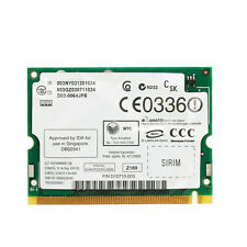 WIFI Network Card Intel Pro/Wireless 2200BG 802.11B/G Mini PCI for Toshiba Dell