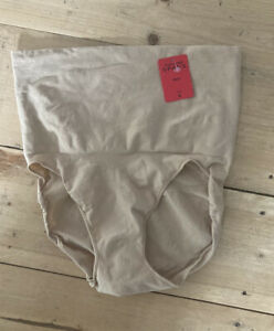 Bmwt Spanx Shaping Pants Knickers Size M Nude Colour Undie-detectable