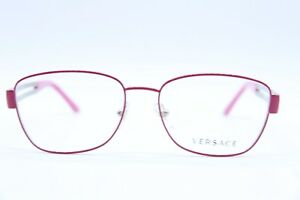 New! Versace MOD. 1234 1370 Authentic Eyeglass Frame Pink&Gold MOD.1234 1370