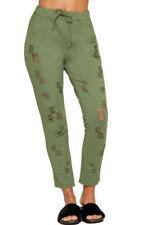 Pantalones de mujer color principal verde talla 38