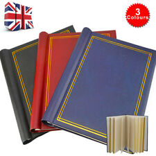 SELF ADHESIVE LARGE PHOTO ALBUMS TOTALLING 60 SHEETS 120 SIDES ALBUM X3