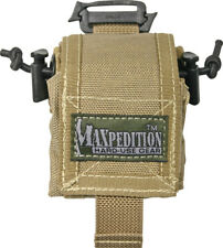 Maxpedition Mini Rollypoly Khaki 0207K Folding Pouch designed to carry a standar