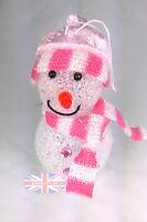 Light Up Snowman Colour Changing LED Xmas Christmas Tree Festive Decoration