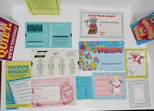 Vintage 1990s EZ Graders Student Rewards  Teaching Guide Collectible Ephemera