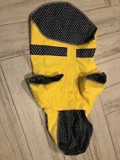 Good 2 Go Yellow Reflective Dog Raincoat - Used - Sz - XL