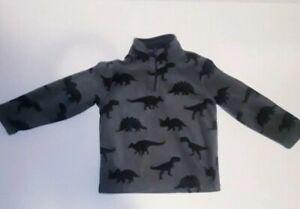 The Children's Place Dinosaur Sweater 4T Dark Navy Green
