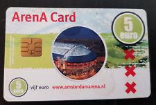 Amsterdam Arena Card 2004 5 Euro Amsterdam Arena Grolsch